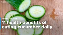 11 Health Benefits Of Eating Cucumber Daily