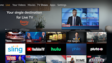 Amazon's Fire TV Live Guide Plugs in Listings From YouTube TV, Hulu Coming Soon