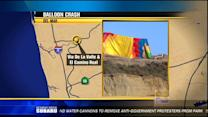 Hot air balloon crash in Del Mar