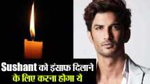 Sushant Singh Rajput fans to blow candles for Justice; Check Out