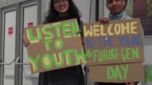 30 minutes to protest at climate summit