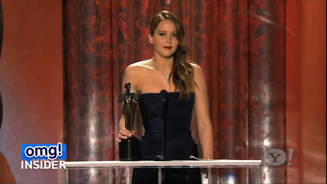Jennifer Lawrence Thanks MTV for Big Win