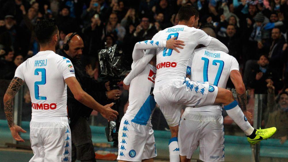 Napoli-Juventus 1-1: Khedira gela il San Paolo, Hamsik firma il pari