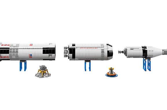 Your next Lego masterpiece is a $120 NASA Saturn V rocket