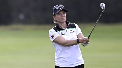 Sorenstam addresses timing of Trump award