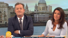 Piers Morgan accuses Susanna Reid of fat shaming him