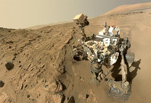 Curiosity celebrates its first action-packed Martian year
