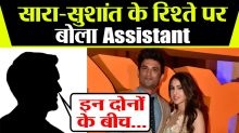 Sushant Singh Rajput's assistant talks about his bonding with Sara Ali Khan