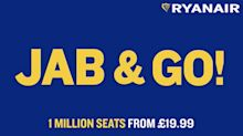 Ryanair 'jab and go' advert sparks controversy