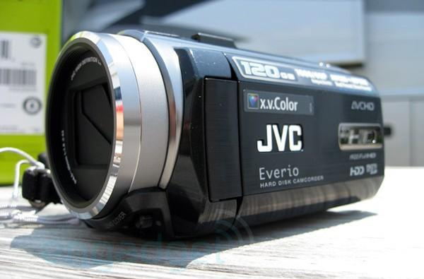 JVC Everio HD40 HD camcorder review