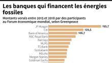 Davos: des participants financent massivement les énergies fossiles, dénonce Greenpeace