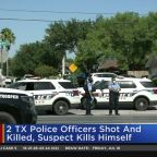 2 Texas Police Officers Shot And Killed, Suspect Kills Himself