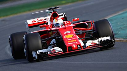 Vettel beats Hamilton to Australian glory in Formula One season opener