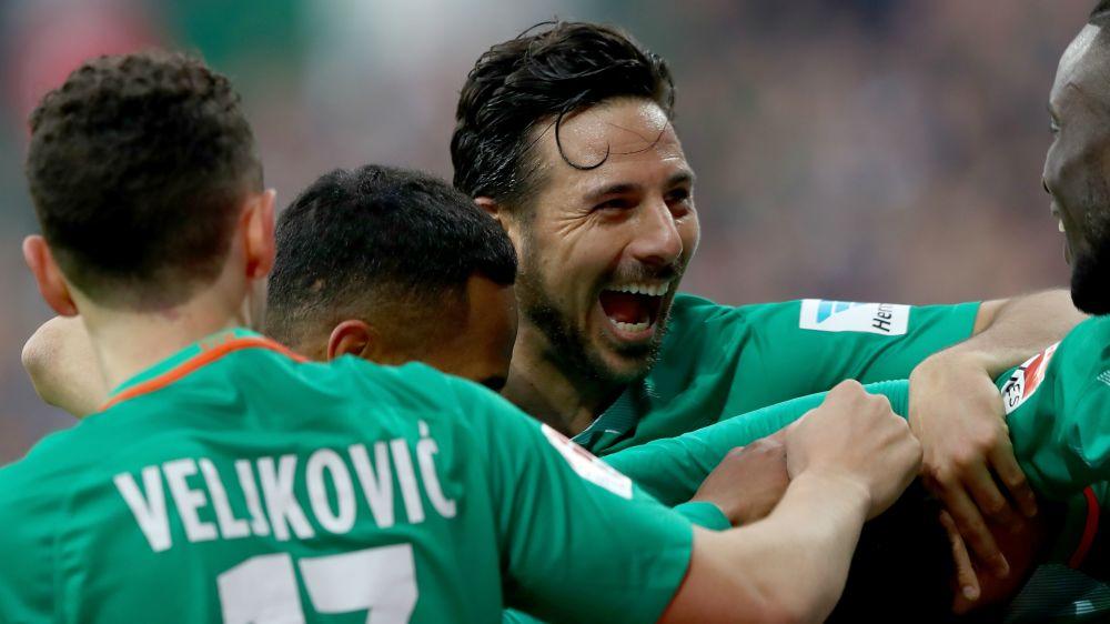El Bremen de Pizarro sorprendió al escolta