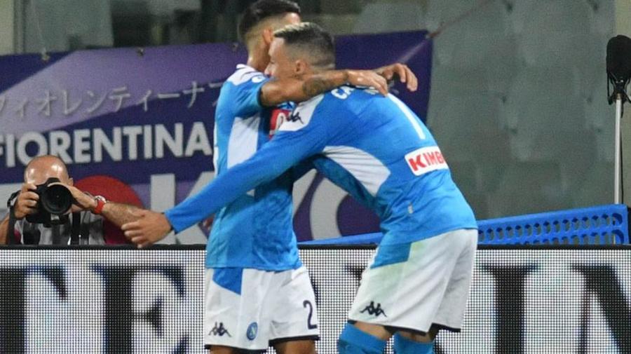 """Il Napoli espugna il Franchi, Ancelotti, """"Bene subito la Juve"""""""