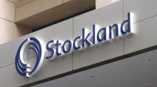 Stockland shares slump as profit slides