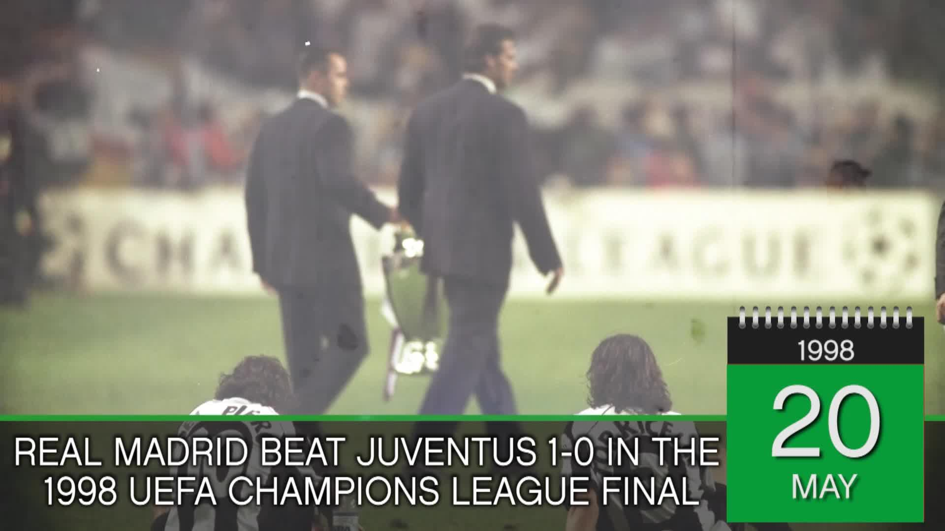 On this Day... Real Madrid beat Juventus in 1998 Champions ...