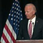 Joe Biden's verbal slip about campaign draws Democrats' cheers