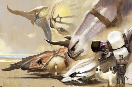 Project Draco 'inspired by' Panzer Dragoon, not a Panzer Dragoon game