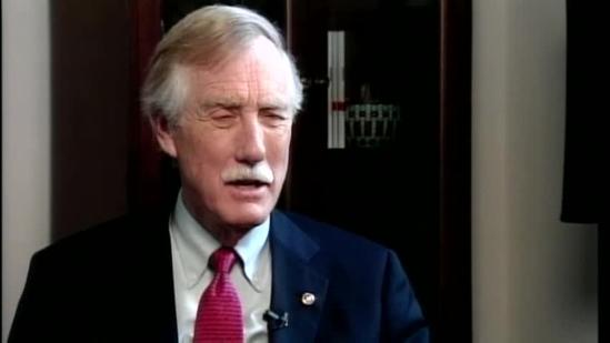 Exclusive: One-on-one with Sen. Angus King