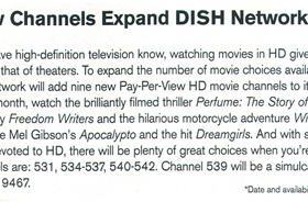 Dish Network to add nine HD pay-per-view channels on September 12th