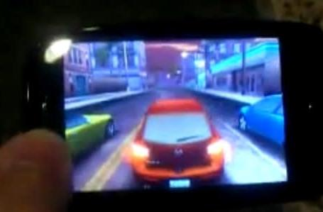 Palm Pre plays Need for Speed, undercover (video)