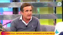 Antonio Montero recibe un aluvión de críticas tras exaltar el legado de Franco en Sálvame