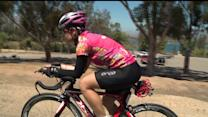 Breast Cancer Survivor Trains For Ironman