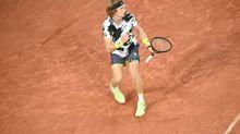 Roland-Garros (H) - Roland-Garros: Andrey Rublev se qualifie en quatre sets pour le troisième tour