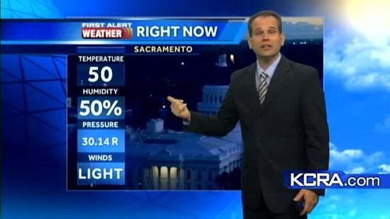 Northern California Forecast 11.10.12
