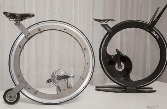 Ciclotte exercise bike for the big wheel enthusiast