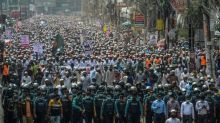 Huge anti-France rally in Bangladesh capital over Macron's cartoon defence
