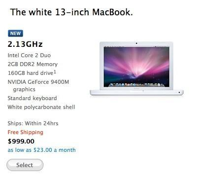 Apple quietly updates $999 MacBook, again -- goes back to school with free iPod touch