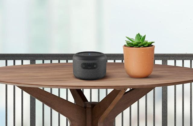Amazon unveils a portable battery-powered Echo