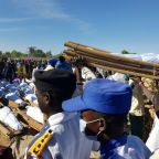 Nigeria buries 43 farmers killed by militants, dozens missing