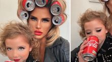 Katie Price slammed over six-year-old daughter's makeup photo