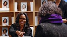 Michelle Obama's memoir is Barnes & Noble's fastest-selling book of 2018, beating Woodward's 'Fear'
