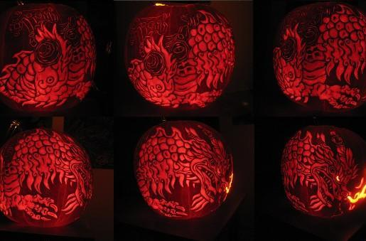 Amazing Cloud Serpent Pumpkin