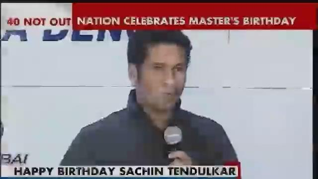 Master Blaster Sachin Tendulkar celebrates his 40th birthday