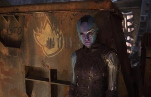 Nebula (Karen Gillan) in Guardians of the Galaxy Vol. 2