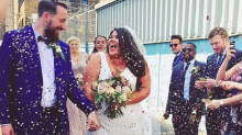 Plus Size Blogger Uses Her Wedding Pics To Share Empowering BoPo Message