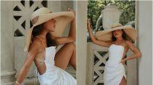 Ideas para combinar el sombrero dentro y fuera de la playa