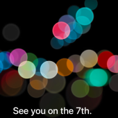 Apple sent invitations for the iPhone 7 event on September 7