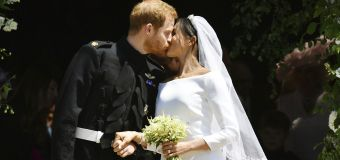 It's official! Prince Harry weds Meghan Markle