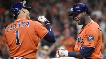 Astros look dangerous in AL West-clinching win