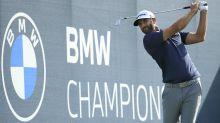Johnson and Matsuyama share BMW Championship lead as McIlroy falls