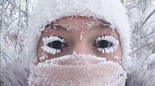 (FOTOS) Bienvenido a Oymyakón, el lugar más frío del planeta, donde hasta las pestañas se congelan
