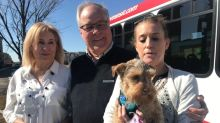 Calgary Transit bus driver rescues runaway dog for frantic owner