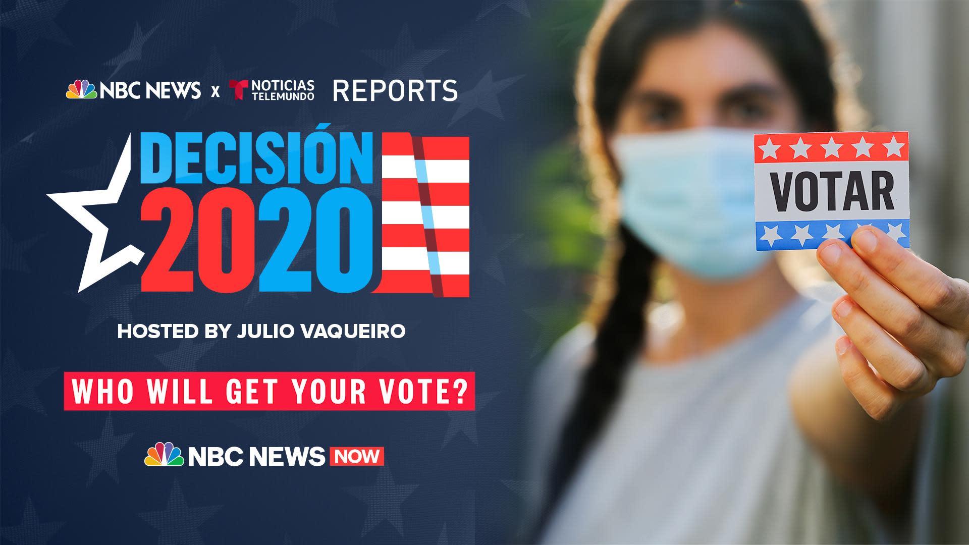 Decisión 2020: Latinos at the center of the election
