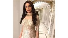Want A Light Yet Embellished Outfit For Sangeet? Take A Look At Juhi Chawla's Outfit